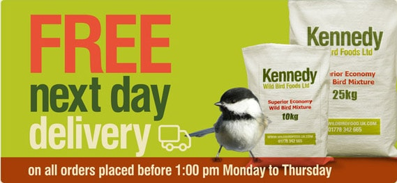 Get your FREE next day delivery
